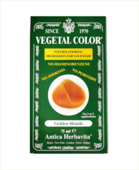 Vegetal Semi Permanent Hair Colour by Herbatint - Golden Blonde 75ml