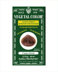Vegetal Semi Permanent Hair Colour by Herbatint - Golden Blonde 60 ml