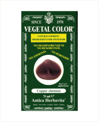 Vegetal Semi Permanent Hair Colour by Herbatint - Copper Chestnut 75ml